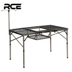RCE 아이언 메쉬 접이식 캠핑 그릴 캠핑 테이블 1200
