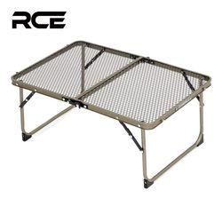 RCE 아이언 메쉬 접이식 캠핑 미니 테이블 600