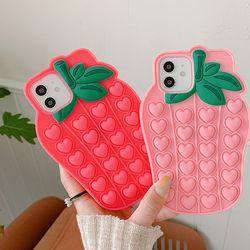 딸기딸기 푸시팝케이스(아이폰XXS)