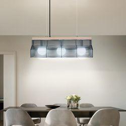 스틸하우스3등 식탁등 LED 카페 인테리어 조명