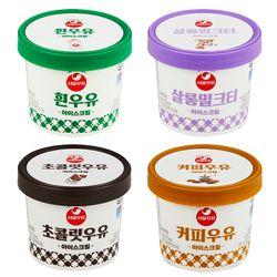 서울우유 아이스크림 100ml 4개 세트