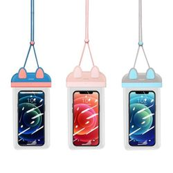 스마트폰 방수팩 블루핑크 USAMS