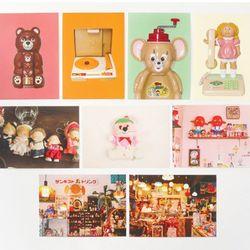 매일 귀여움 인테리어 엽서 9종 미니 포스터 카드