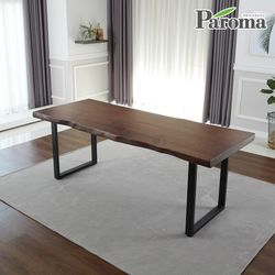 [파로마]엘리티우드슬랩1600식탁테이블LK