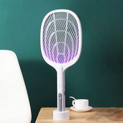 상상공간 모기 킬러 모기제로 충전식 전기 모기채
