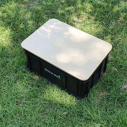 스노우아울 캐리박스용 우드상판 대형(645x485mm)