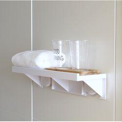 욕실 목욕탕 붙이는 접착식 무타공 벽 행잉 수납 선반