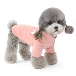 목폴라 강아지 티셔츠