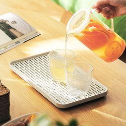 와이드 물빠짐 컵건조대 (대형)