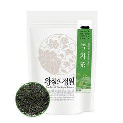 [왕실의정원] 따뜻한 해풍으로 씻은 녹차 잎차 2온스(57g)