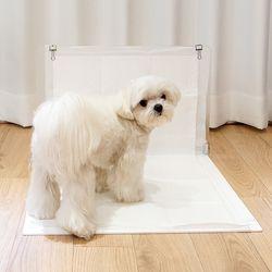 강아지 배변판 화장실 배변매트 아크릴