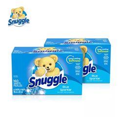 Snuggle 스너글 섬유유연제 드라이시트 블루스파클 230개입