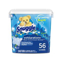 Snuggle 스너글 센트부스터 블루아이리스 블리스 캡슐세제 56개