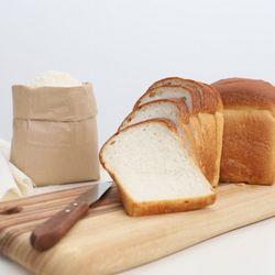 [무료배송] 쌀식빵(2개) 식사대용 모닝빵 비건 쌀빵 베이커리