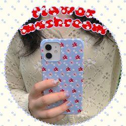 [뮤즈무드] flower mushroom 아이폰케이스
