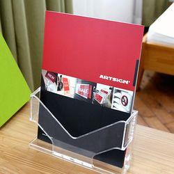 A4 리플렛 카다로그 팜플렛 거치대 신문 잡지 꽂이 아이홀더