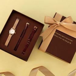 매일 보아도 새로운 당신을 닮은 선물 시계 기프트세트