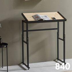 차 한 잔의 여유 철제 원목 테이블 840