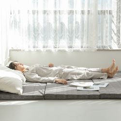 접이식 3단 마약매트리스 바닥 기절 원룸 자취 수면 매트