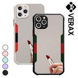 아이폰7플러스 컬러라인 범퍼 거울 하드 케이스 P607