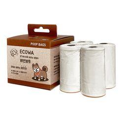 에코와 pdc 수용성 친환경 배변봉투 40매
