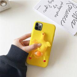아이폰12 11 PRO MAX XR XS 8 7 꼬꼬닭 말랑이 케이스