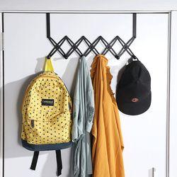 폴딩6구 벽 옷걸이 가방 바지 모자 걸이 도어훅 행거