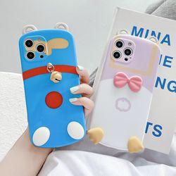 아이폰 x xr max se2 7 8 귀여운 러버덕 실리콘케이스