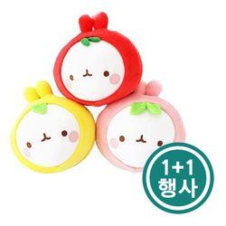 [몰랑] 동글동글 귀여운 몰랑이 과일 얼굴 행사상품