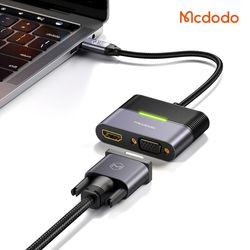 Mcdodo 4 in 1 C타입 허브 어댑터 HDMI VGA C타입 PD