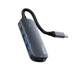 아이노비아 USB C타입 4in1 HDMI 4K 미러링 멀티허브 IHC4H