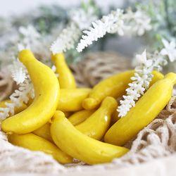 미니 바나나 모형 10P (8cm)