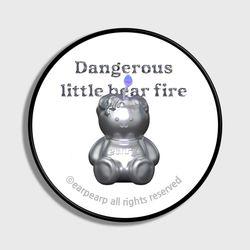 LITTLE FIRE STEEL COVY-WHITE(스마트톡)