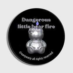 LITTLE FIRE STEEL COVY-BLACK(스마트톡)