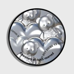 STEEL COVY HEART-GREY(스마트톡)