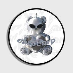 SPACE NIGHT STEEL BEAR-WHITE(스마트톡)