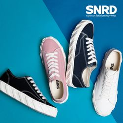 SNRD남여공용 스니커즈 캔버스화 커플신발 신발 뷰크