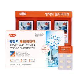 [무료배송] [한미] 임팩트 멀티비타민 (500mg30정3박스)