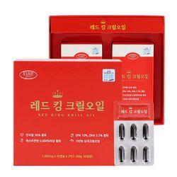[무료배송] [에버그린] 레드킹크릴오일 (1000mg30캡슐2박스)
