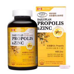 [에버그린] 데일리플랜 프로폴리스&아연 (520mg300캡슐)