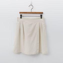 Linen Wrap Shorts - 치마바지