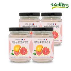 [웰러스] french자몽농축물등복합물 120g 4병