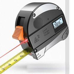 레이저 줄자 거리측정기 높이 측정 전자줄자 MR-11