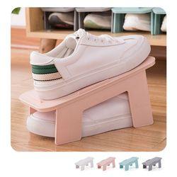 키밍 조립식 2단 신발 정리대 수납 신발장 신발보관함