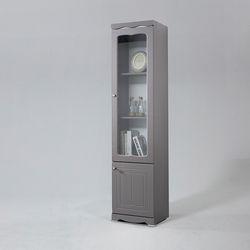 리아프 유리 도어 틈새 장식장 1800 (착불)
