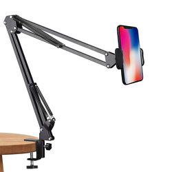 LAAON 자바라 클램프 태블릿 모바일 거치대 ITB-F500