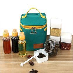 여행용 양념통 캠핑용 조미료 소스통 양념 세트 박스