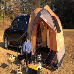 대형 캠핑 트렁크 카크닉 차박텐트