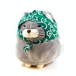 귀여운 일본 고양이 뚱냥이 모찌 쿠션 인형 30CM