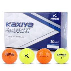 스트레이트 2피스 칼라 골프공 골프 연습 용품 30구